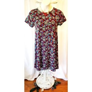 """Multicolored """"CARLY STAR DRESS"""" Size XS"""